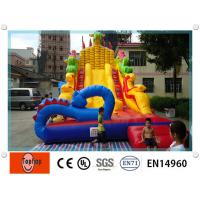 Quality Fun dragon commercial inflatable slides with custom pictures digital printing fun wholesale