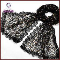Quality Graceful Leisure Lace Scarf (LL02-1) wholesale