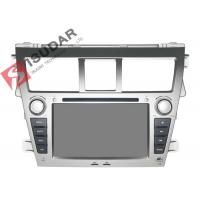 Cheap 7 Inch Toyota Yaris Sat Nav Unit , Toyota Car Dvd Player Gps Built-In Radio for sale