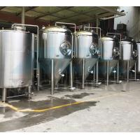 Quality 100L-5000L Stainless Steel Beer Conical Fermenter Fermentation Tanks 1000L Stainless Steel Beer Fermentation Tank wholesale