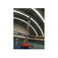 Quality Simple Self Propelled Elevating Work Platforms 1 - 20 m Lift Height For Installation wholesale