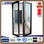 Quality aluminium glass double sashes swing and hinged doors wholesale