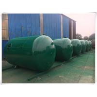 Quality Horizontal Air Receiver Tanks For Compressors , Stainless Steel Pressure Vessel wholesale