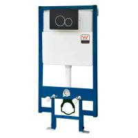 Quality Modern Concealed Toilet Cistern , P-trap Wall Hung Toilet Cistern KDR-011T wholesale
