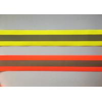Quality 100% Polyester High Visibility Silver reflective tapes for Safety Vests / clothing wholesale