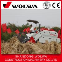 Quality Wolwa Newly good quality wheat/rice combine harvester with big grain tank wholesale