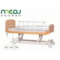 Quality Semi Fowler Electric Hospital Bed MJSD04-09 Nursing Bed With Wood Board wholesale