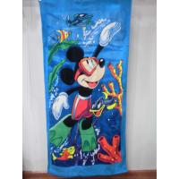 Quality cheap Beach towel 75*150 cotton terry towels in bulk wholesale