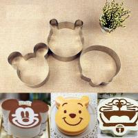 Cheap Disney Cartoon Mousse Ring Mold Fashion Stainless Steel Material For Bakery / for sale