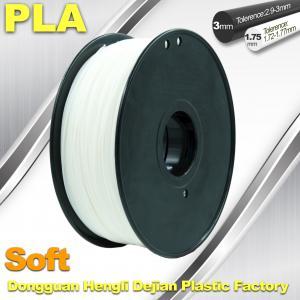Quality Soft PLA Filament, 3D Printer filament.1.75 / 3.0mm,DEJIAN Factory wholesale