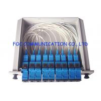 Quality SC / UPC Fiber Optic Splitter Cassette Box, 1×8 Passive Optical Splitter Low PDL wholesale