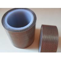 Quality 0.18mm Thickness Single Side Coating Teflon Adhesive Tape For Machinery wholesale