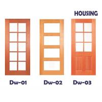 China Inward Swing Timber Composite Doors With 45mm Door Leaf on sale