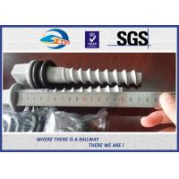 Buy cheap Q235 35# 45# Railway Sleeper Screws , HDG Coating Screw Spike from wholesalers