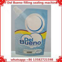 Buy cheap Del Bueno packing machine,automatic filling and capping cover machine from wholesalers