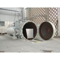 Quality Chemical Concrete Autoclave with PLC control and hydraulic pressure door wholesale