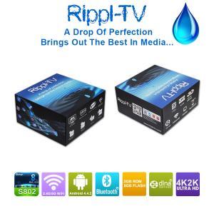 Quality Rippl-TV Android Smart TV Box Quad Core UtilOS Special Edition XBMC 4K2K Internet Media Player wholesale