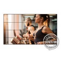 China Samsung 55 Inches Digital Signage Video Wall , 3.5mm Video Wall Monitors HDMI Signal Input on sale