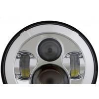 Cheap 40W Jeep LED Headlights with High Low Beam Round 7 Inch H4 / H13 for sale