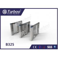 Quality Office Security Swing Electronic Turnstile Barrier Gate RFID Card Reader wholesale