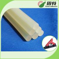 Quality EVA General Purpose White Semi-Transparent Hot Melt Glue Stick For Sealing , Hard Crafts wholesale