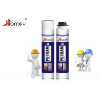 China House Aerosol Spray Foam Insulation Closed Cell Mixture MF Beige Color on sale