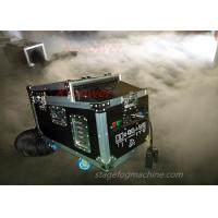 Quality 1200 Watt Water Haze Machine Dry Ice Stage Fog Machine With Flight Case X-DI wholesale