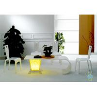 Quality FU (4) clear acrylic wood bar furniture wholesale