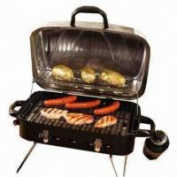 Cheap Deluxe Portable Gas Outdoor BBQ Grill with Burner and Regulator, Best Gas Grill Ratings for sale