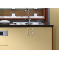 Cheap embeded contemporary style plywood kitchen cabinets for Cheap kitchen carcass