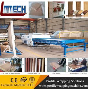 Quality Vacuum membrane press machine for solid surfaces wholesale