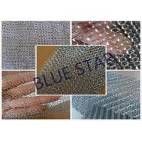 Quality Fine Flat Wire Stainless Steel Knitted Mesh Corrosion Resisstance Wire Dia 0.15MM - 0.3MM wholesale
