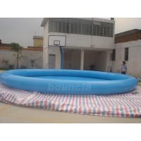 Quality Customized Round Inflatable Water Pool With Durable PVC Tarpaulin wholesale
