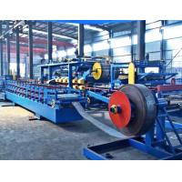 Quality Speed Forming 6m / Min Rockwool Sandwich Panel Machine Synchronies With Panel Machine wholesale