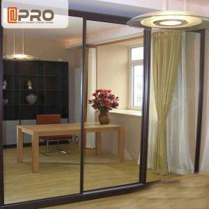 China Australia Anti Noise Aluminium Sliding Glass Doors System Customized Size on sale