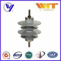 Cheap 9KV Gapless Metal Oxide Surge Arrester Polymer Self - Standing with KEMA Certified for sale