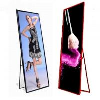 Quality Movable Indoor Full Color LED Display P2.5 Stand Poster Light Box 320x160mm wholesale