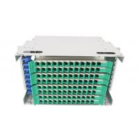 Quality 19 Inch Rack Mounted Optical Distribution Frame SC FC LC ST ODF 12 Core 24 Core 48 core 72 Core 96 Core Patch Panel wholesale