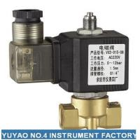 Quality Stainless Steel 3 Way Solenoid Valve Normally Open , High Pressure 1/4'' Solenoid Valve wholesale
