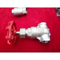 China 2 Inch/Full Port/Threaded  Gate Valve/ Cf8m Water Gate Valve/stainless steel gate valve/200WOG on sale