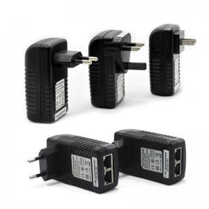 China Wall Mounted Poe Power Adapter Wifi Adapter Desktop Power Supply AU EU UK US Plug 12V - 48V on sale