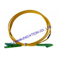 Quality LX.5 / APC - LC / APC fiber optic patch cables SFF Type Suitable For FTTH wholesale