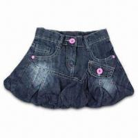 China Short Skirt in Blue, Suitable for Children on sale