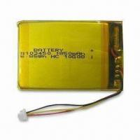 China 3.7V Lithium-ion Battery for Electronic Medical Device, with 1,850mAh Typical Capacity on sale