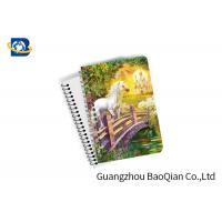 Quality Unicorn Design Depth Effect A4 A5 A6 3D Lenticular Notebook For Student Stationery Eco-friendly wholesale