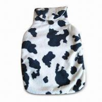 China Plush Spot Hot Water Bottle Cover, Available in Various Colors and Designs, Measures 38 x 25cm on sale