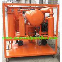 China Vacuum Transformer Oil Filter Machine Price,Double Stages High Vacuum Pumping System on sale