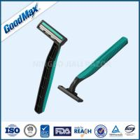 Quality Rubber Handle Twin Blade Disposable Razor Any Color Available ISO Certificate wholesale
