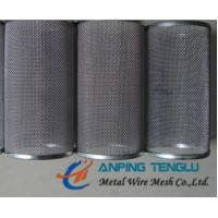 Cheap Stainless Steel Cylindrical Woven Filter Mesh, Woven Type Filter Tube for sale