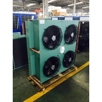 China Fin Type Refrigeration Copper Tube Air Cooled Condenser For Cold Room on sale